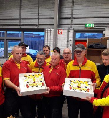Business Post West-Brabant viert jubilieum met taart