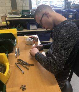 Jesse ontwikkelt zich op de afdeling Beschut Werk