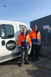 Jonah en Anthony hebben een beschutte werkplek bij de groenvoorziening van WVS.